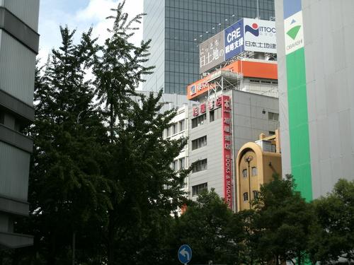 新阪急ビル前  旭屋書店前